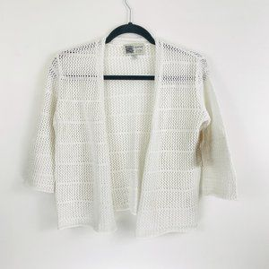 Habitat Clothes Live In White Knitted Cardigan S